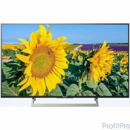 """Sony 49"""" KD49XF8096BR2 черный/серебристый Ultra HD/400Hz/DVB-T/DVB-T2/DVB-C/DVB-S/DVB-S2/USB/WiFi/Smart TV"""