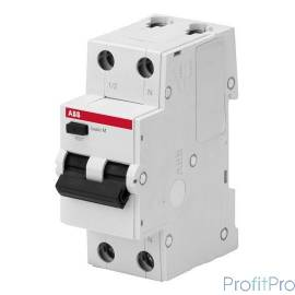 ABB 2CSR645041R1104 Выкл. авт. диф. тока, 1P+N, 10А, C, 4.5kA, 30мА, AC, BMR415C10