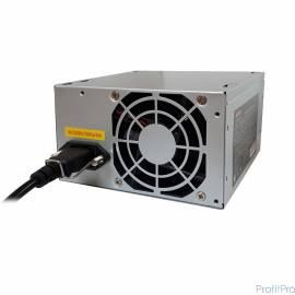 Exegate EX253683RUS-S Блок питания AA450, ATX, SC, 8cm fan, 24p+4p, 2*SATA, 1*IDE + кабель 220V с защитой от выдергивания