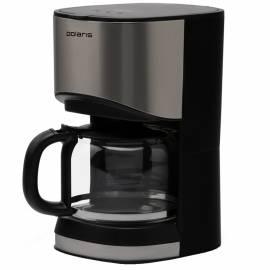 Кофеварка капельная Polaris PCM-1215, 1,2л, черная, 900Вт