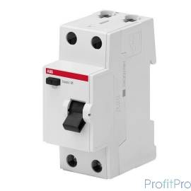 ABB 2CSF602043R3400 Выкл.диф.тока 2P, 40A, 300мА, AC, BMF43240