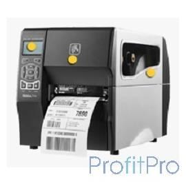 Zebra ZT230 [ZT23042-T0E000FZ] Серебристый, черный TT Printer, 203 dpi, Euro and UK cord, Serial, USB
