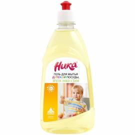 """Средство для мытья детской посуды Ника """"С первых дней жизни"""", гель, пуш-пул, 500г"""