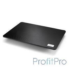 "DEEPCOOL N1 BLACK (Подставка для охлаждения ноутбука ( 20шт/кор, до 15,6"", супертонкий 2,6см, 180мм вентилятор, черный) Retail"