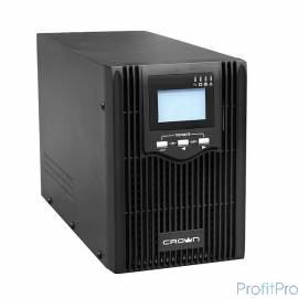 CROWN ИБП CMUS-615 Line Interactive, 1500VA/1200W, розетки 3*IEC С13, LCD [CM000001900]