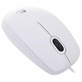 Мышь Logitech B100 USB белый