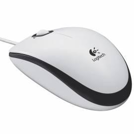 Мышь Logitech M100 USB белый