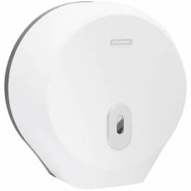 Диспенсер для туалетной бумаги в рулонах OfficeClean Professional, ABS-пластик, механич., белый