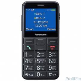 "Panasonic MobilePhone TU150 black 2Sim 2.4"" TFT 240x320 0.3Mpix BT"