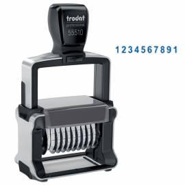 Нумератор автоматический Trodat 55510, 47*5мм, 10 разрядов, металлический