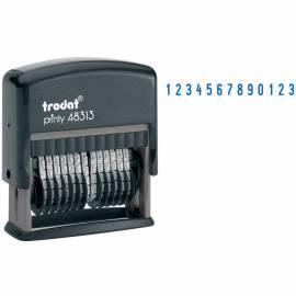 Нумератор автоматический Trodat 48313, 42*3,8мм, 13 разрядов, пластик