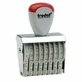 Нумератор Trodat 1558, 38*5мм, 8 разрядов, пластик