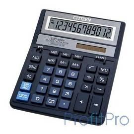 Калькулятор настольный Citizen SDC-888XBL 12 разрядов, две памяти, 205х159х27мм, синий