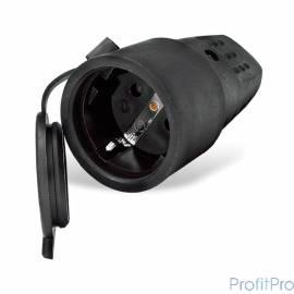 UNIVersal Розетка кабельная переносная c заземлением каучук 16А 250В IP44 (602228)