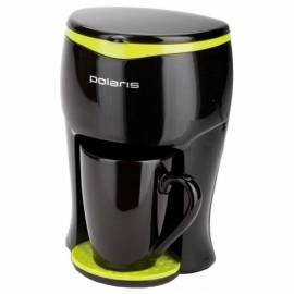 Кофеварка капельная Polaris PCM-0109, 0,1л, черная, 350Вт