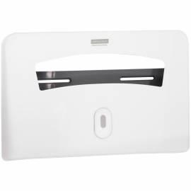 Диспенсер для бумажных покрытий на унитаз OfficeClean Professional, 1/2 сл., ABS-пластик., белый