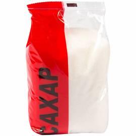 Сахар песок 0,9кг, полиэтиленовый пакет
