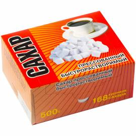 Сахар-рафинад 0,5кг, картонная коробка