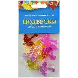 "Материал декоративный Апплика ""Подвески. Зонтики"", 20шт."