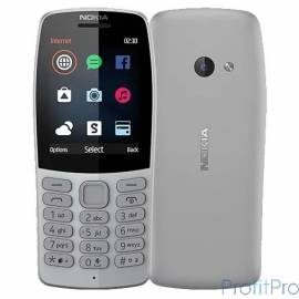 Nokia 210 DS Gray [16OTRD01A03]