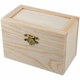 "Заготовка для декорирования Mr. Carving ""Коробка"", дерево, 12*6,8*8,3см"