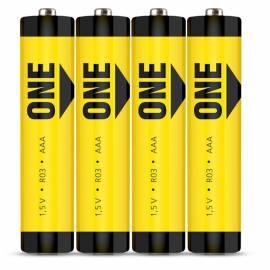 Батарейка SmartBuy ONE AAA (R03) солевая, SB4
