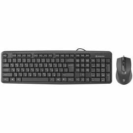 """Комплект проводной клавиатура + мышь Defender """"C-270"""", черный"""