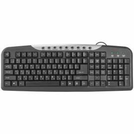 Клавиатура Defender HM-830, USB мультимедийная, черный