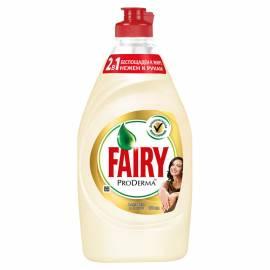 """Средство для мытья посуды Fairy """"ProDerma. Алоэ Вера и Кокос"""", 450мл"""