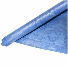 """Скатерть одноразовая Vitto """"Prestige"""", в рулоне, 1,2*7м, бумажная с полимерным покрытием, синяя"""