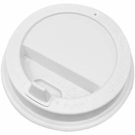Крышка с откидным питейником, для горячих напитков, 90мм, белая