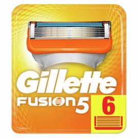 """Кассеты для бритья сменные Gillette """"Fusion"""", 6шт."""