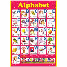 """Плакат настенный Русский Дизайн """"Alphabet"""", 490*690мм"""