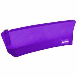 """Пенал-косметичка 210*70*55 Berlingo """"Style"""", фиолетовый полиэстер"""