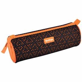 "Пенал-тубус 210*70*70 Berlingo ""Style"", оранжевый полиэстер"