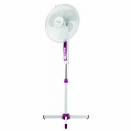Вентилятор напольный Scarlett SC-SF111B05, фиолетовый, белый