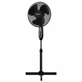 Вентилятор напольный Scarlett SC-SF111B17, подсветка, черный