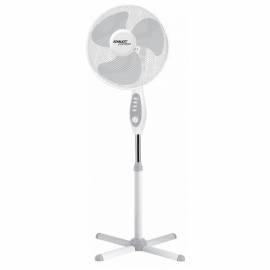 Вентилятор напольный Scarlett SC - SF111B18, подсветка, белый