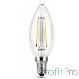 GAUSS 103801109 Светодиодная лампа LED Filament Свеча E14 9W 680lm 2700К 1/10/50