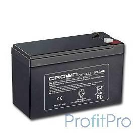 Crown Аккумулятор CBT-12-7.2 (12V, 7.2Ah)