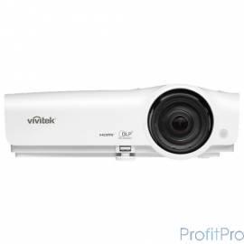 Vivitek DX281ST [813097023353] короткофокусный проектор DLP, XGA (1024x768), 3000 Lm, 15000:1, 0.63:1, HDMIx2, 5,000/7,000/10,0