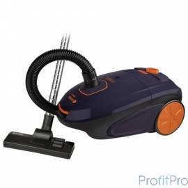 Пылесос VITEK VT-8106, мешок, 2200 Вт, фиолетовый/ оранжевый