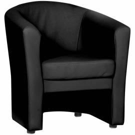 """Кресло для отдыха """"Крон"""", обивка terra 118 чёрный"""
