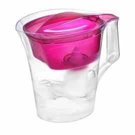 """Кувшин-фильтр для воды Барьер """"Твист"""", пурпурный, с картриджем, 4л, без индикатора"""