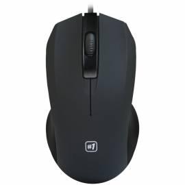 Мышь Defender MM-310, USB, черный, 2btn+Roll