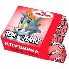 Жевательная конфета Tom&Jerry, клубника, 11,5г