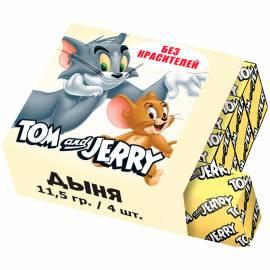Жевательная конфета Tom&Jerry, дыня, 11,5г
