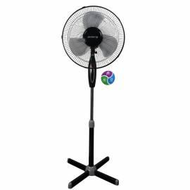 Вентилятор напольный Polaris PSF 0540, серый, черный