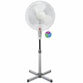 Вентилятор напольный Polaris PSF 40E, серый, белый