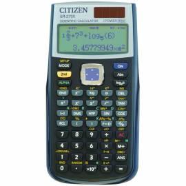 Калькулятор научный SR-270X 10+2 разряда, 274 функции, двойное питание, 84*164*19 мм, черный